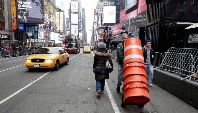 Terorisma draudi Ņujorkai: Daesh plānos ir uzbrukt Taimskvēram