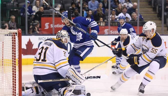 Girgensona Bufalo Sabres ar 4:3 pārspēj Toronto Maple Leafs