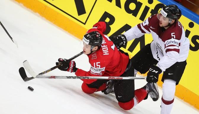 Latvijas hokejisti – otrie rupjākie pasaules čempionātā