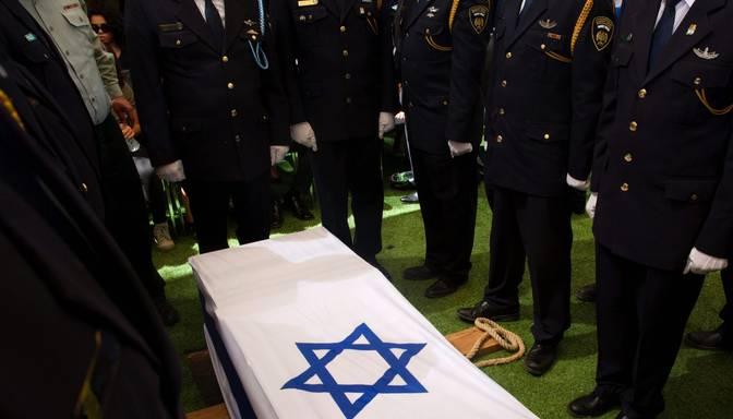 FOTO: Jeruzalemē atvadās no Šimona Peresa