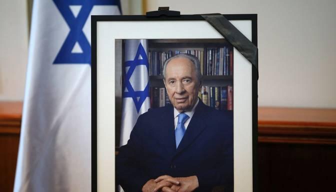 FOTO: Jeruzaleme gatavojas eksprezidenta Peresa bērēm