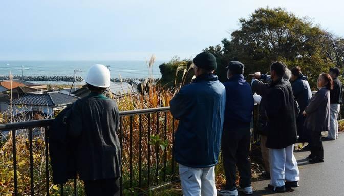 Japānu satricina 7,4 ballu spēcīga zemestrīce