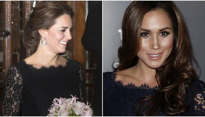 Briest skandāls? Prinča Harija jaunajai draudzenei tāda pati kleita kā Keitai Midltonei!