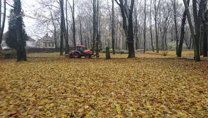 Lielajos kapos rosās traktori, tiek grābtas lapas – vai tie beidzot tiks sakopti?