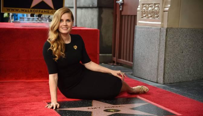 Eimijai Adamsai zvaigzne Holivudas slavas alejā