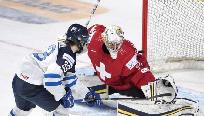 Latvijas U-20 hokejistu pretiniece Somija apakšgrupu turnīru noslēdz ar uzvaru
