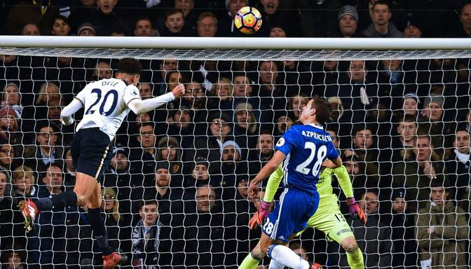 "VIDEO: ""Tottenham Hotspur"" pussargs Ali aptur ""Chelsea"" uzvaru sēriju"