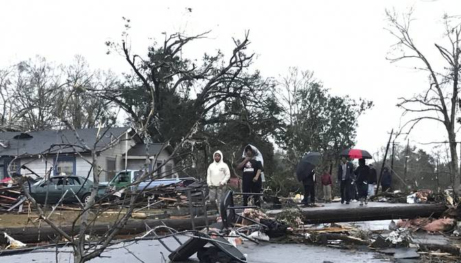 Viesuļvētrā ASV četri bojāgājušie