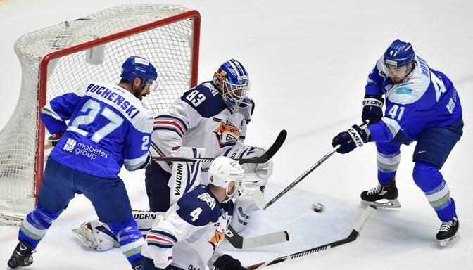"Magņitogorskas ""Metallurg"" uzvar Astanas ""Barys"", Mozjakins labo KHL rekordu"