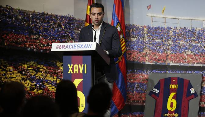 """Barcelona"" atradusi un izaudzinājusi jauno Čavi?"