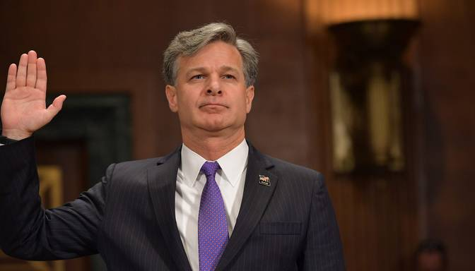 ASV senāts apstiprina jauno FIB direktoru Kristoferu Reju