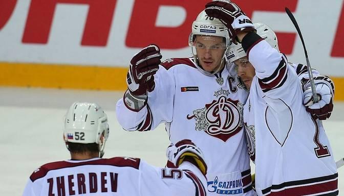 "TEKSTA VIDEO TIEŠRAIDE: KHL. Maskavas apgabala ""Vityaz"" – Rīgas ""Dinamo"""