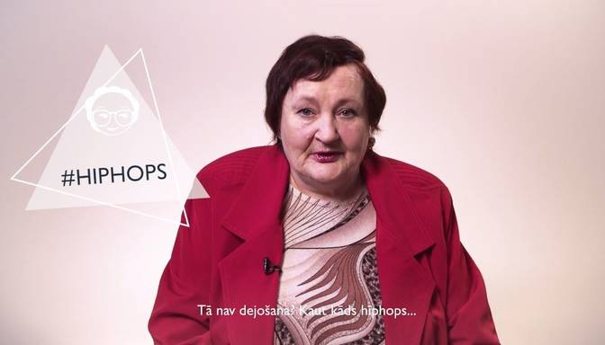 Latviešu pensionāri skaidro, kas ir kepons, hiphops un pīrsings