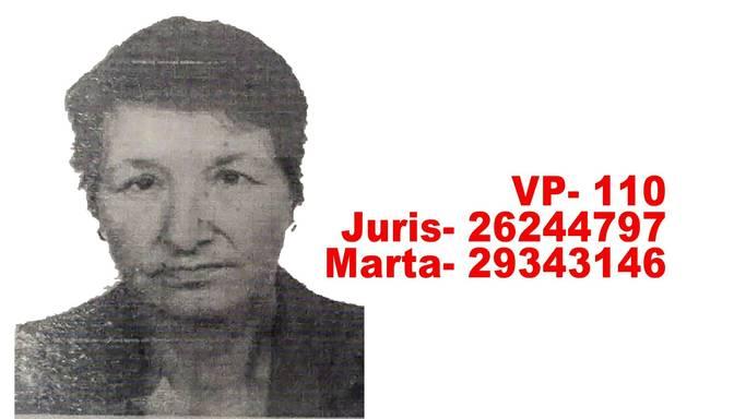 Radinieki meklē Jelgavas pusē pazudušo Birutu Redisoni