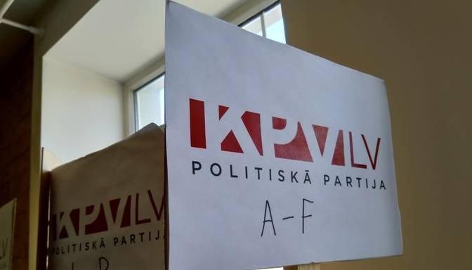 """""""KPV LV"""" valde vērsusies prokuratūrā aizdomās par nelikumībām partijas finansējuma izlietošanā"""