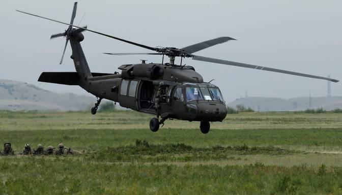 "ASV dod Latvijai ""zaļo gaismu"" četru helikopteru ""Black Hawk"" iegādei"