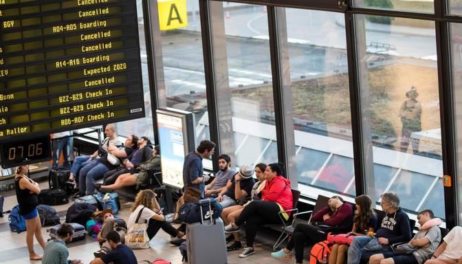 """Ryanair"" pilotu streiks ietekmējis aptuveni 55 000 pasažieru"