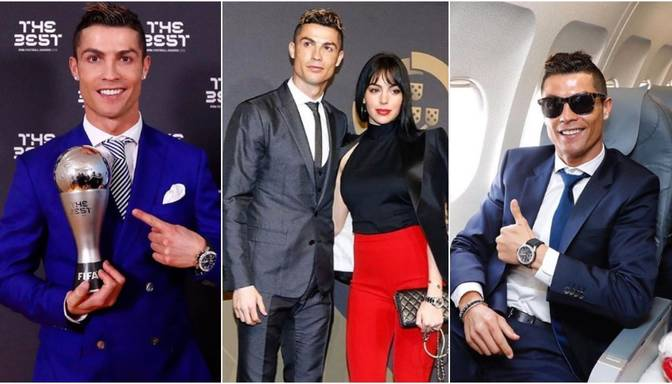 Aplūko futbola superzvaigznes Ronaldu uzvalku kolekciju
