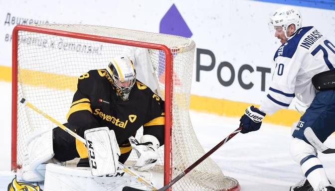 "Indraša ""Dynamo"" KHL mačā uzvar Kuldas ""Severstal"""