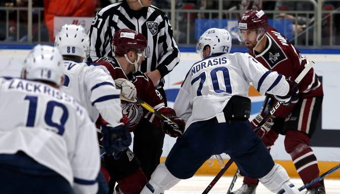"TEKSTA VIDEO TIEŠRAIDE: KHL. Maskavas ""Dynamo"" – Rīgas ""Dinamo"""