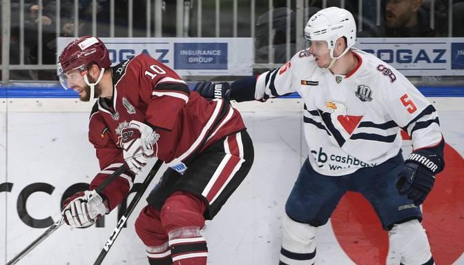 "TEKSTA VIDEO TIEŠRAIDE: KHL. Rīgas ""Dinamo"" – Bratislavas ""Slovan"""