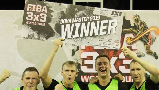 """Riga Ghetto Basket"" 3×3 basketbola komanda pirmo reizi triumfē Pasaules tūres posmā"