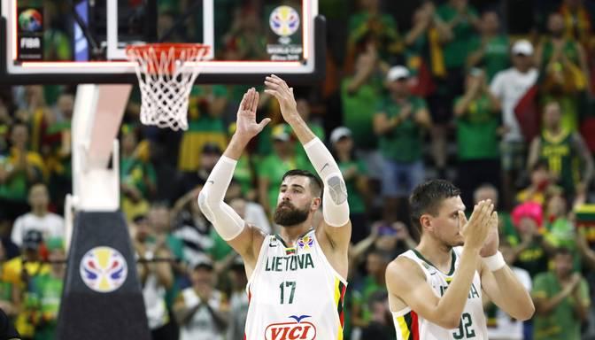 Lietuva olimpiskajā kvalifikācijas turnīrā tiksies ar 2017. gada Eiropas čempioniem Slovēniju