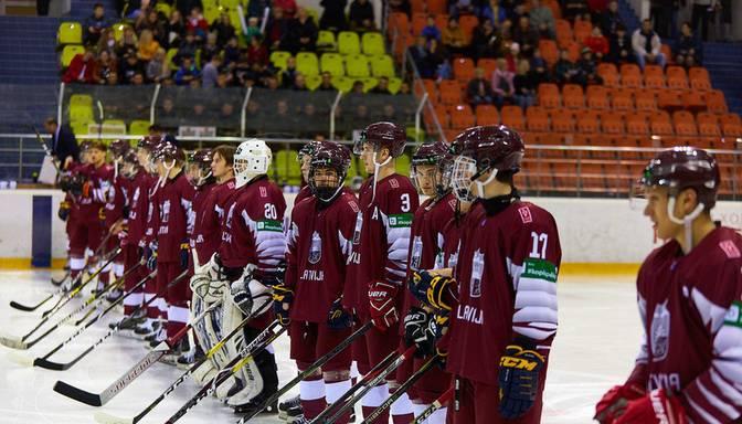 Paplašinātajā kandidātu sarakstā pasaules U20 čempionātam Minskā iekļauti 43 hokejisti