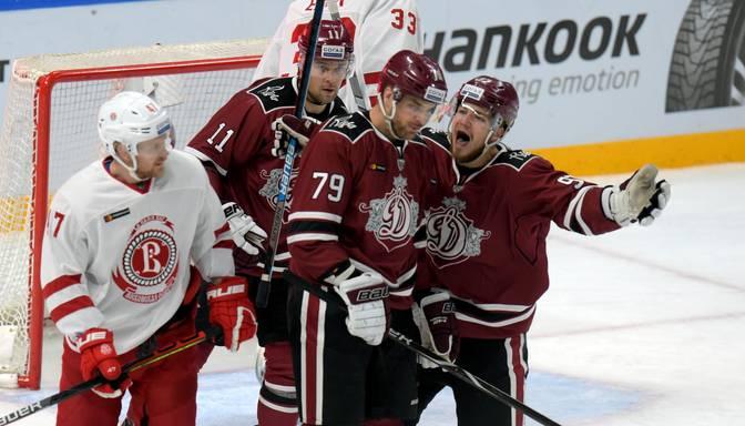 """Spēļu grafiks nežēlo – """"Dinamo"""" dienu pēc panākuma pret """"Spartak"""" tiekas ar """"Vityaz"""""""