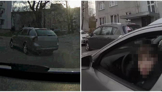 """""""Aizņēmās"""" sava onkuļa auto – 14 gadīgs pusaudzis Pārdaugavā mūk no policijas"""