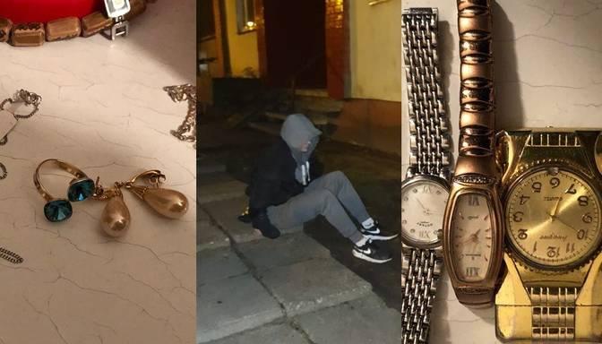 Aizturēta garnadžu grupa, kas apzagusi vairākus dzīvokļus Rīgā
