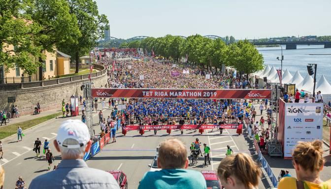 Rīgas maratona pirmo piecu vietu ieguvēji kvalificēsies Tokijas olimpiskajām spēlēm
