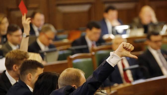 Valsts budžeta pieņemšana Saeimā raisa jautājumus par politisko un likumdošanas kultūru