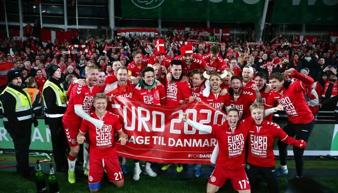 Dānija iegūst punktu pret Īriju un nodrošina vietu 2020.gada EČ finālturnīrā