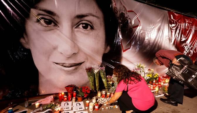 Maltā saistībā ar skandalozo žurnālistes slepkavību aizturēts ietekmīgs uzņēmējs
