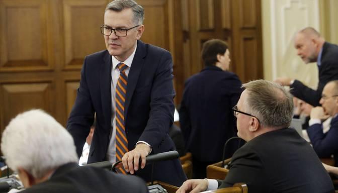 Latkovskis: Esam pret nodokļu palielināšanu budžeta deficīta segšanai, tāpēc arī neatbalstām rosināto deficīta pieaugumu