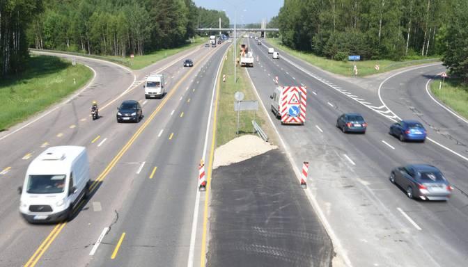 Latvijā plāno ieviest jaunu ceļa apzīmējumu distances ievērošanai