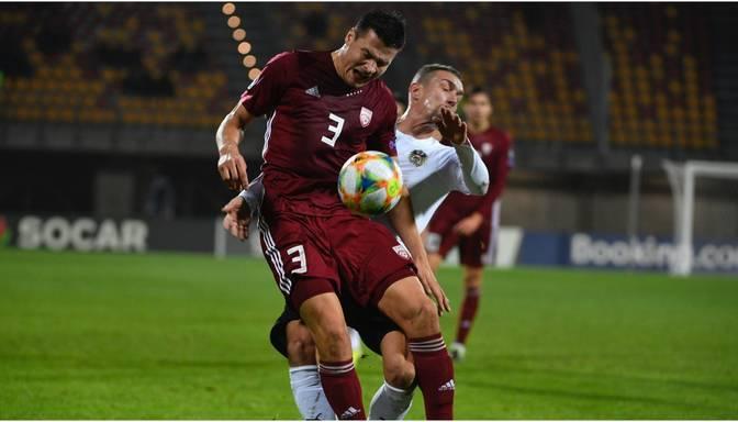Latvija negaidīti pārspēj Austriju un EČ kvalifikāciju nenoslēdz sausā