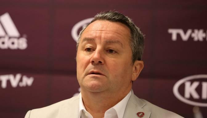 Stojanovičs: Pieļauju, ka došu iespēju kādam, kurš nav spēlējis tik daudz