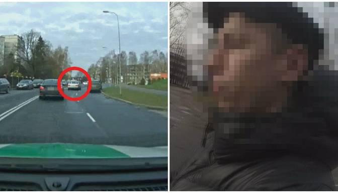 """Policisti ievēro aizdomīgu auto – vēlāk atklājas, ka pie stūres ir personāžs ar visai """"raibu"""" pagātni"""