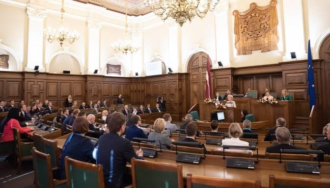 CVK ļauj sākt parakstu vākšanu Saeimas atsaukšanas rosināšanai