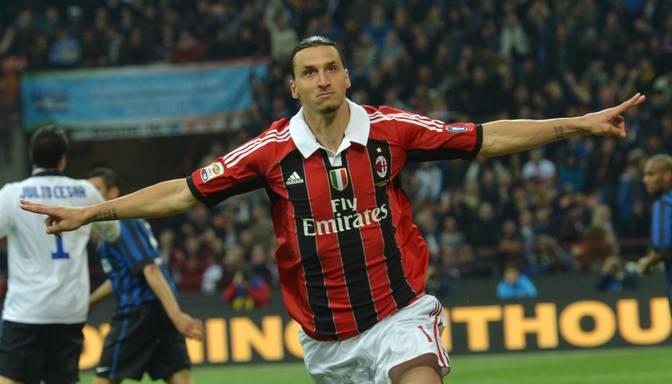 """Ibrahimovičs par septiņiem miljoniem eiro piekritis vēl vienu sezonu pārstāvēt """"AC Milan"""""""