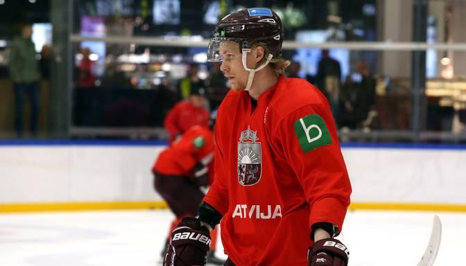 Ābols jau pirmajā ECHL spēlē izceļas ar vārtu guvumu