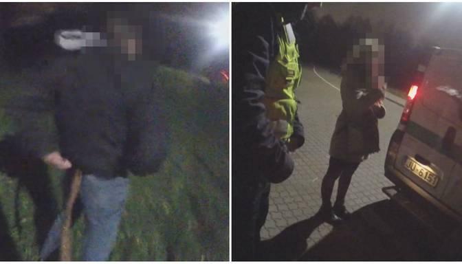 """""""Vediet viņu uz Tvaika ielu! Es jūs lūdzu!"""" Satrakojies vīrietis dzērumā uzbrūk policistam"""