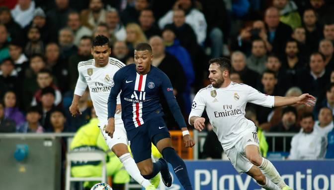 """PSG un """"Real"""" aizvada supermaču Madridē; """"City"""" spēlē neizšķirti ar """"Shakhtar"""""""