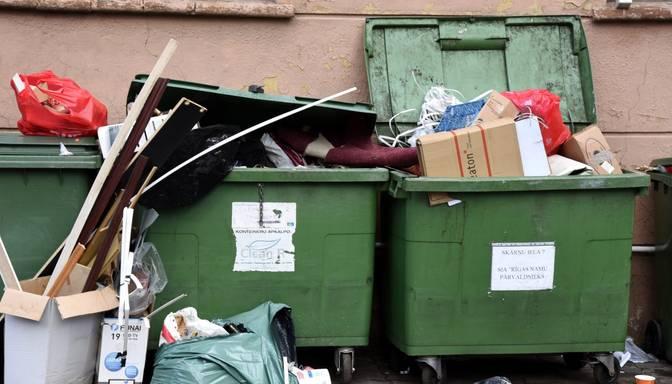 Rīgas dome grasās lūgt pagarināt ārkārtas situāciju atkritumu apsaimniekošanā