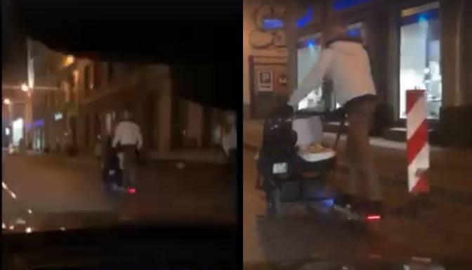 Policija meklē vīrieti, kurš lielā ātrumā traucas ar elektrodēli, apdraudot bērnus
