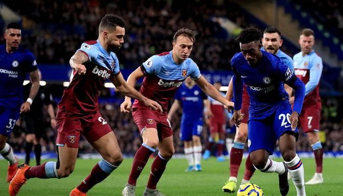 """""""Chelsea"""" negaidīti mājās paklūp pret """"West Ham"""""""