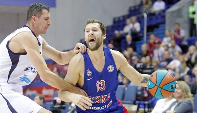 Strēlniekam seši punkti CSKA uzvarā