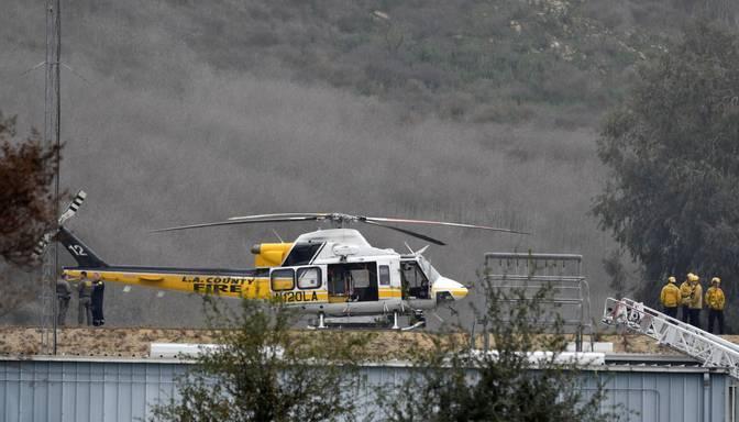 Traģiskajā KobesBraienta helikoptera avārijā pilots zaudējis orientāciju biezajā miglā